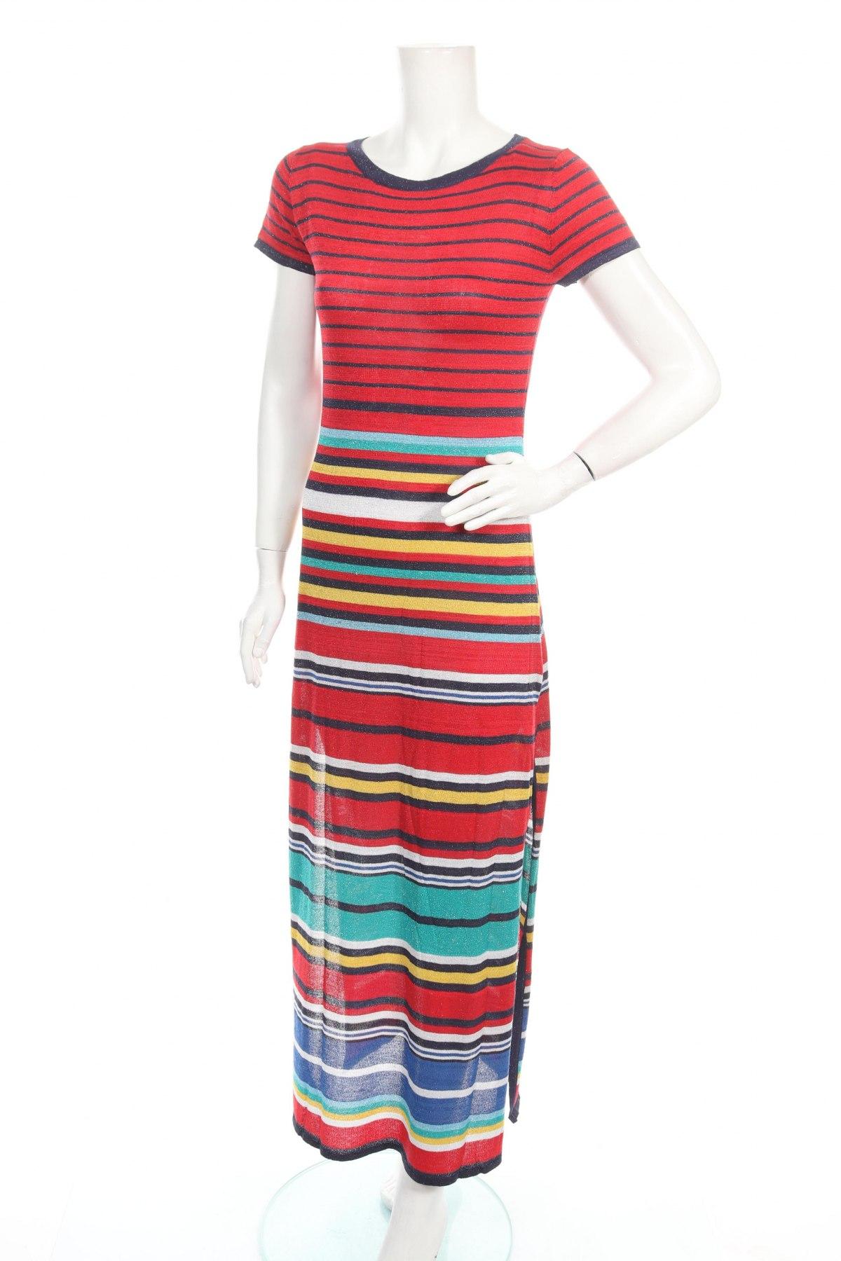 Φόρεμα Desigual, Μέγεθος L, Χρώμα Πολύχρωμο, 74% βισκόζη, 18% πολυεστέρας, 8% μεταλλικά νήματα, Τιμή 73,07€