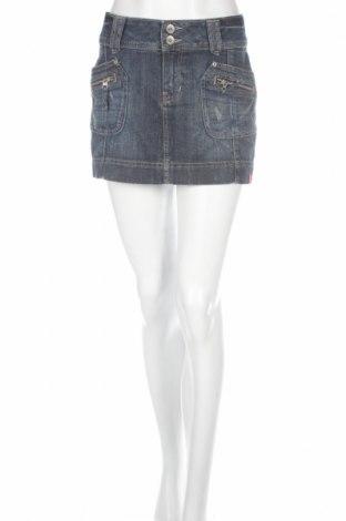 Пола Edc By Esprit, Размер M, Цвят Син, 99% памук, 1% еластан, Цена 6,66лв.