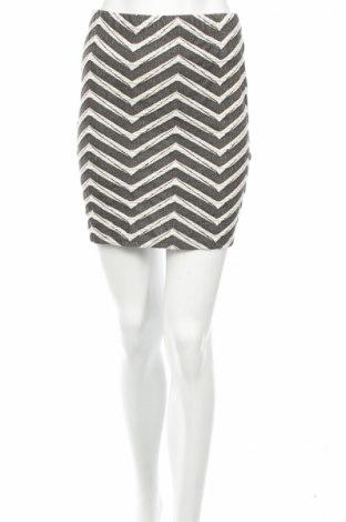 Пола Gina Tricot, Размер S, Цвят Сив, 65% памук, 30% полиестер, 5% еластан, Цена 4,59лв.