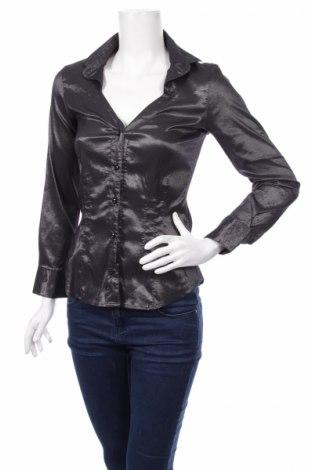 Γυναικείο πουκάμισο, Μέγεθος S, Χρώμα Γκρί, Τιμή 13,92€