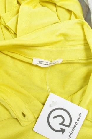 Γυναικείο πουκάμισο American Vintage, Μέγεθος M, Χρώμα Κίτρινο, Βισκόζη, Τιμή 21,65€