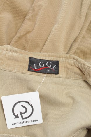 Γυναικείο πουκάμισο Egge, Μέγεθος S, Χρώμα  Μπέζ, 100% βαμβάκι, Τιμή 15,46€