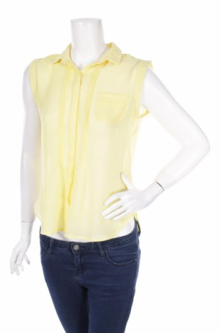 Γυναικείο πουκάμισο Flower By Charm's, Μέγεθος M, Χρώμα Κίτρινο, Πολυεστέρας, Τιμή 10,82€