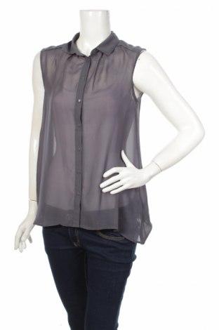 Дамска риза H&M, Размер M, Цвят Син, Полиестер, Цена 5,25лв.