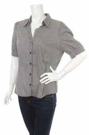 Γυναικείο πουκάμισο H&M, Μέγεθος XL, Χρώμα Μαύρο, Τιμή 10,82€