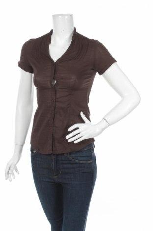 Γυναικείο πουκάμισο Terranova, Μέγεθος XS, Χρώμα Καφέ, Τιμή 3,57€