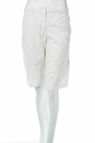 Дамски къс панталон Etirel, Размер M, Цвят Бял, 100% памук, Цена 5,29лв.