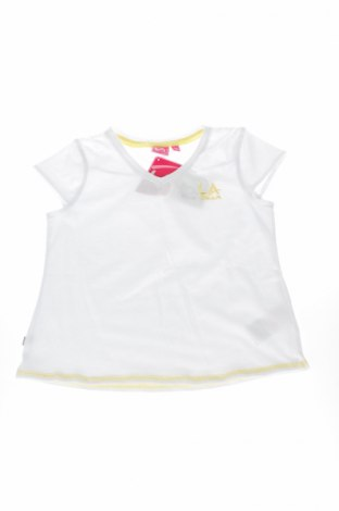 Детска блуза LA Gear, Размер 10-11y/ 146-152 см, Цвят Бял, 65% полиестер, 35% памук, Цена 11,20лв.