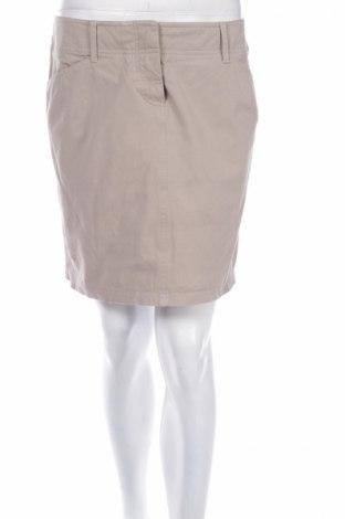 Пола Seventy, Размер L, Цвят Бежов, 92% памук, 8% еластан, Цена 11,00лв.