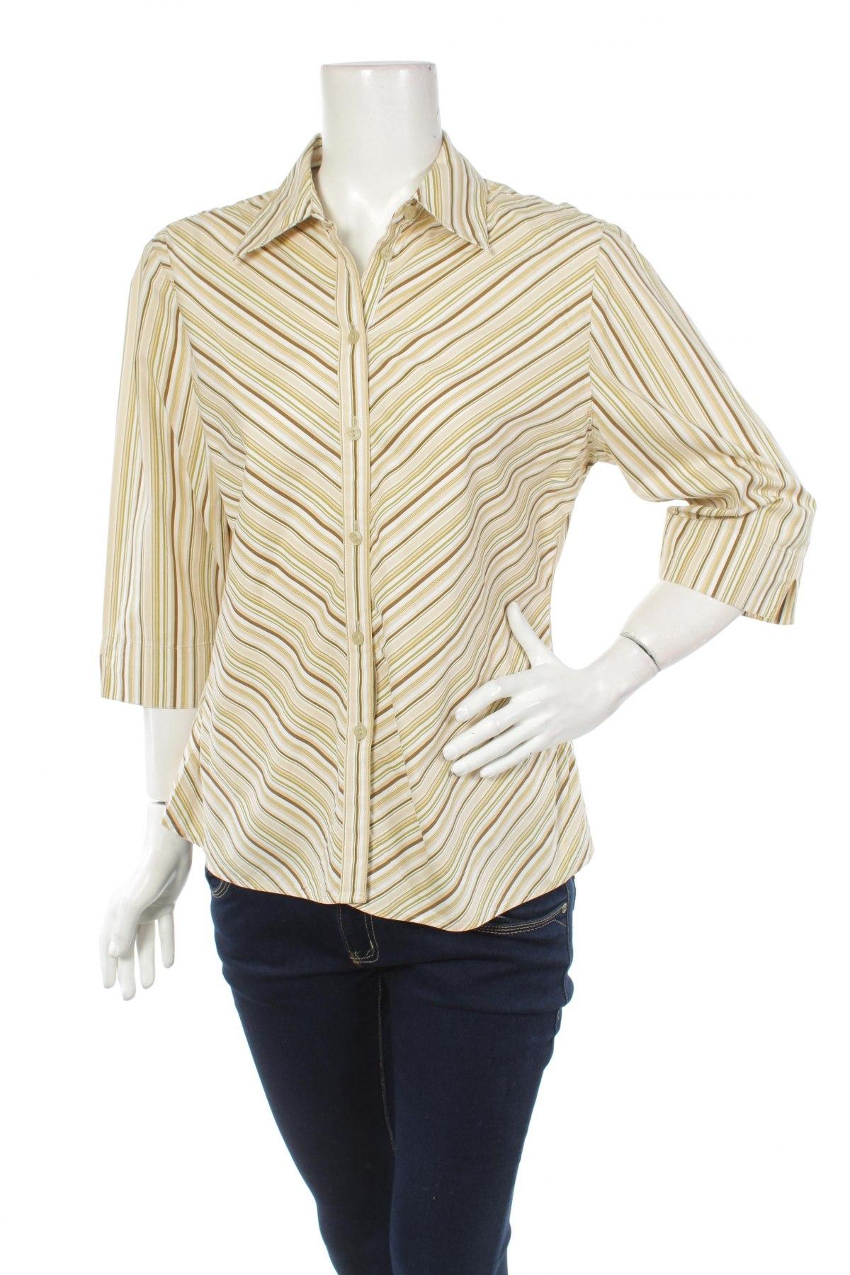 Γυναικείο πουκάμισο Canda, Μέγεθος L, Χρώμα Πολύχρωμο, 96% βαμβάκι, 4% ελαστάνη, Τιμή 13,92€