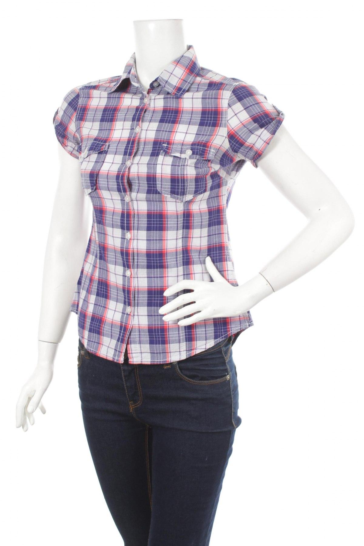 Γυναικείο πουκάμισο H&M L.o.g.g, Μέγεθος S, Χρώμα Πολύχρωμο, Βαμβάκι, Τιμή 10,82€