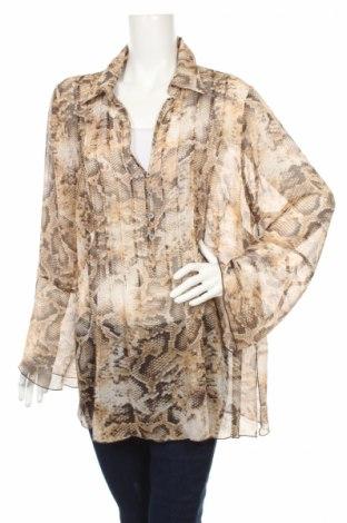 Дамска блуза Clarina Collection, Размер XXL, Цвят Многоцветен, Полиестер, Цена 17,00лв.