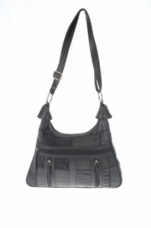 Дамска чанта, Цвят Черен, Естествена кожа, Цена 20,74лв.