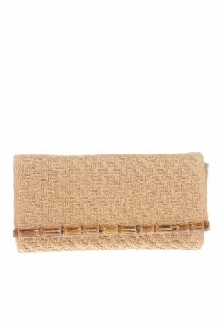 Дамска чанта H&M, Цвят Бежов, Текстил, Цена 12,80лв.