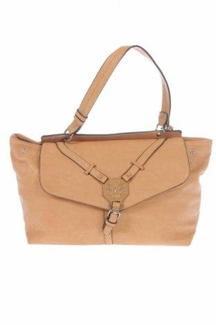 Дамска чанта Marina Galanti, Цвят Бежов, Еко кожа, Цена 12,48лв.