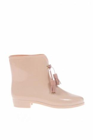 Γυναικείες μπότες Vivienne Westwood Anglomania + Melissa, Μέγεθος 38, Χρώμα  Μπέζ, Πολυουρεθάνης, Τιμή 126,09€