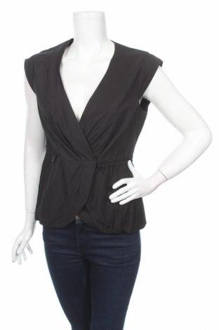 Дамски елек Veronika Maine, Размер M, Цвят Черен, 60% вискоза, 40% памук, Цена 37,00лв.