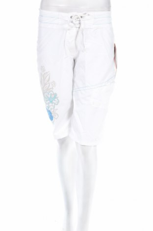 Γυναικείο κοντό παντελόνι Longboard, Μέγεθος M, Χρώμα Λευκό, Πολυεστέρας, Τιμή 3,56€