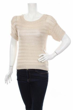Дамски пуловер Atmosphere, Размер XS, Цвят Бежов, 62% акрил, 38% полиамид, Цена 5,98лв.