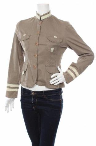 Дамско яке, Размер M, Цвят Зелен, 98% памук, 2% еластан, Цена 8,14лв.