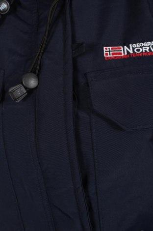 Дамско яке Geographical Norway, Размер L, Цвят Син, Полиамид, Цена 136,95лв.