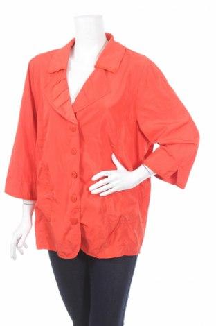 Дамско яке Gina Laura, Размер XL, Цвят Оранжев, Полиестер, Цена 12,86лв.
