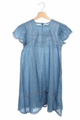Rochie de copii Stella Mccartney Kids, Mărime 11-12y/ 152-158 cm, Culoare Albastru, 100% bumbac, Preț 136,30 Lei