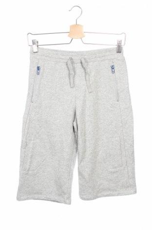 Детски къс панталон Stella Mccartney Kids, Размер 11-12y/ 152-158 см, Цвят Сив, Памук, Цена 40,95лв.