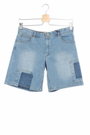 Детски къс панталон Stella Mccartney Kids, Размер 13-14y/ 164-168 см, Цвят Син, 99% памук, 1% еластан, Цена 52,40лв.