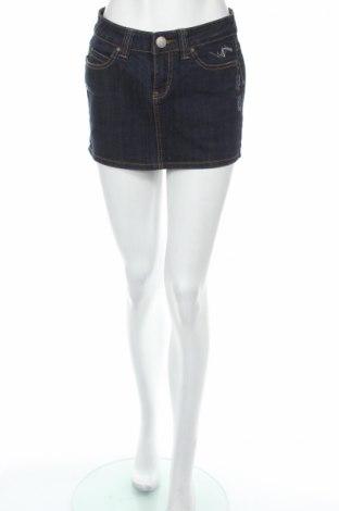 Пола, Размер S, Цвят Син, 95% памук, 5% еластан, Цена 5,45лв.