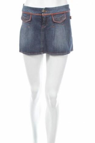 Φούστα, Μέγεθος M, Χρώμα Μπλέ, 97% βαμβάκι, 3% ελαστάνη, Τιμή 3,74€