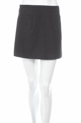 Пола H&M, Размер XS, Цвят Черен, 53% памук, 44% полиестер, 3% еластан, Цена 4,60лв.