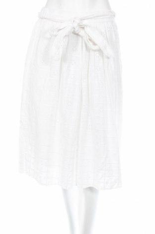 Φούστα Zara, Μέγεθος M, Χρώμα Λευκό, Βαμβάκι, Τιμή 6,99€