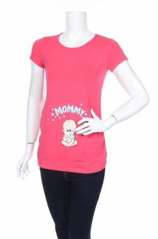 Блуза за бременни Lc Waikiki, Размер S, Цвят Розов, Цена 16,07лв.