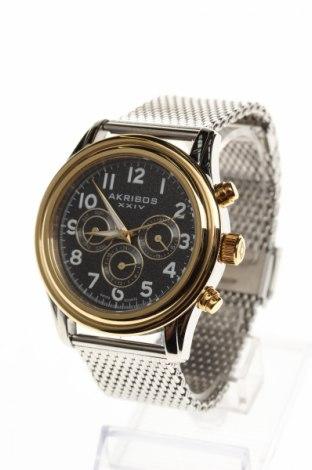 Часовник Akribos XXIV, Цвят Сив, Метал, Цена 128,85лв.