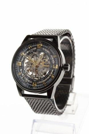 Часовник Akribos XXIV, Цвят Черен, Метал, Цена 192,25лв.