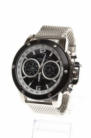 Ρολόι Akribos XXIV, Χρώμα Γκρί, Μέταλλο, Τιμή 61,70€