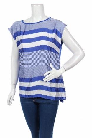 Дамска блуза Charles Vogele, Размер L, Цвят Син, 95% вискоза, 5% еластан, Цена 4,73лв.