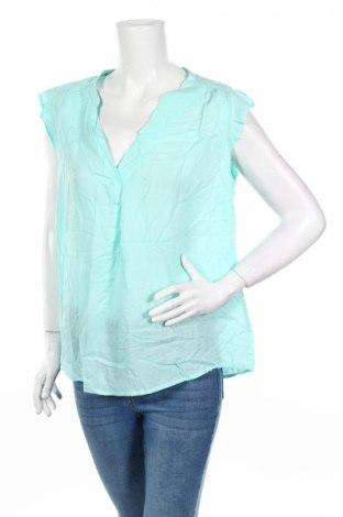 Дамска блуза Charles Vogele, Размер XL, Цвят Син, Вискоза, Цена 3,94лв.