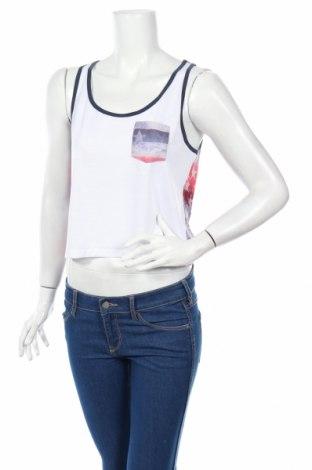 Дамска блуза Converse All Star, Размер M, Цвят Бял, Полиестер, Цена 12,48лв.