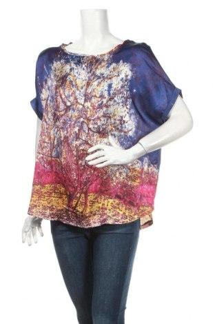 Дамска блуза Julie, Размер L, Цвят Многоцветен, 100% полиестер, Цена 9,45лв.