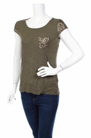 Дамска блуза Lc Waikiki, Размер L, Цвят Зелен, Цена 19,95лв.