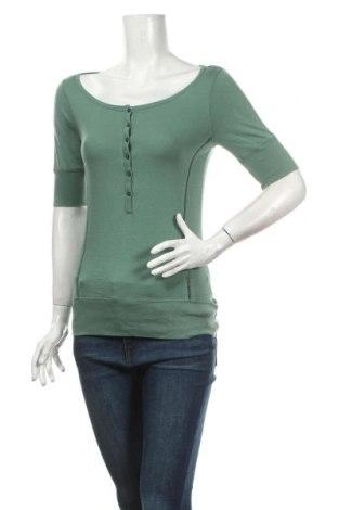 Дамска блуза Old Navy, Размер M, Цвят Зелен, Памук, Цена 16,80лв.