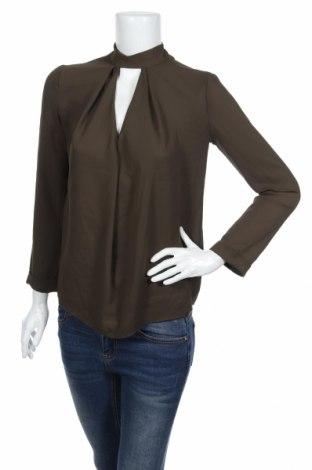 Дамска блуза Topshop, Размер XS, Цвят Зелен, Полиестер, Цена 5,95лв.