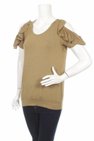 Дамска блуза Tramontana, Размер S, Цвят Зелен, 95% вискоза, 5% еластан, Цена 4,40лв.