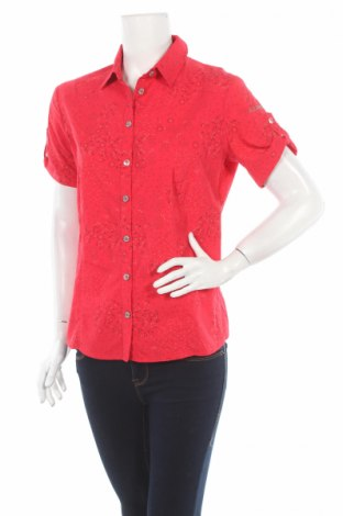 Дамска риза Allsport Of Austria, Размер M, Цвят Червен, 96% полиестер, 4% еластан, Цена 9,45лв.