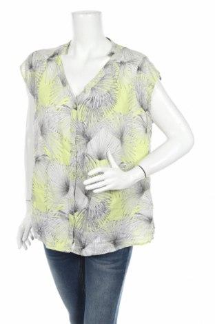 Дамска риза Charles Vogele, Размер XL, Цвят Многоцветен, 60% лен, 40% памук, Цена 4,73лв.