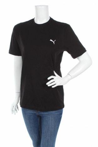 Дамска тениска PUMA, Размер S, Цвят Черен, 100% памук, Цена 25,97лв.