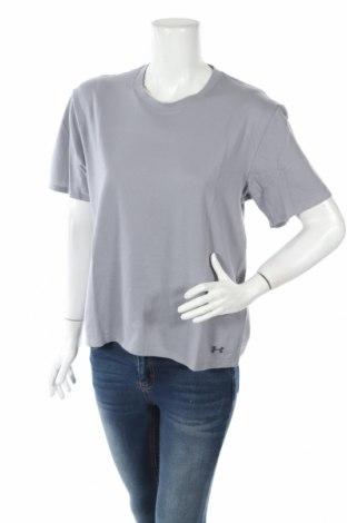 Damski T-shirt Under Armour, Rozmiar M, Kolor Szary, 90% bawełna, 6% poliester, 4% elastyna, Cena 34,50zł