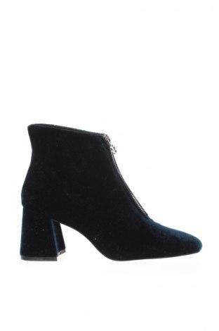 Γυναικεία μποτάκια Zara Trafaluc, Μέγεθος 36, Χρώμα Μπλέ, Κλωστοϋφαντουργικά προϊόντα, Τιμή 31,50€